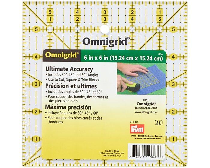 Patchwork Lineal Omnigrid 6 X 6 Inch Prym