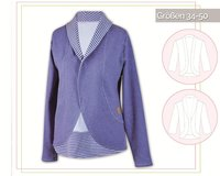 CARDIGAN, Schnittmuster lillesol women No.29