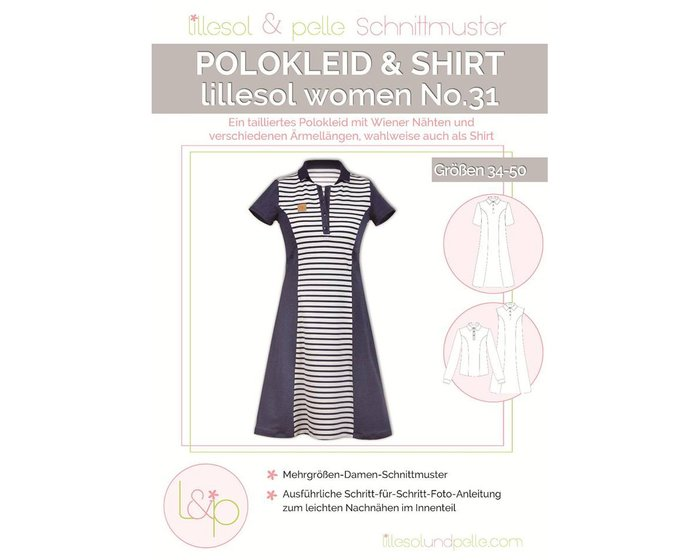 POLOKLEID & SHIRT, Schnittmuster lillesol women No.31