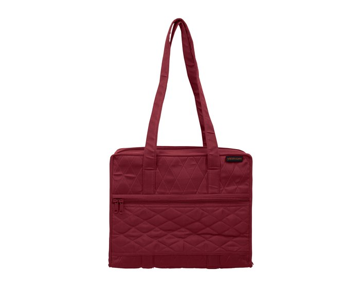 yazzii-Tasche QUILTERS PROJECT BAG, weinrot