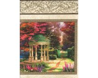 60-cm-Rapport Patchworkstoff THE GARDEN OF PRAYER
