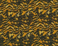 Baumwollstretch EVELYN, Animal-Print, goldbraun