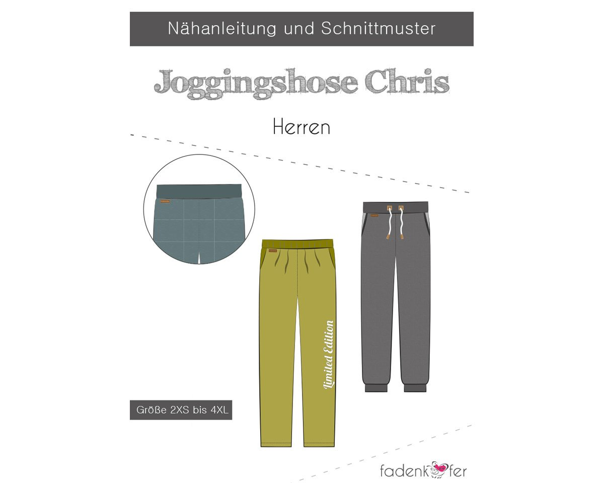 Herren schnittmuster kostenlos jogginghose Lockere Freizeithose