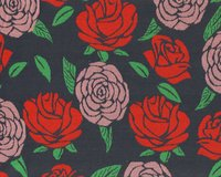 Bio-Jacquard-Strick COZY JUNGLE, Rosen