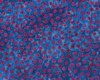 Batik-Patchworkstoff BALI DOTS GREAT, Punkte, royalblau