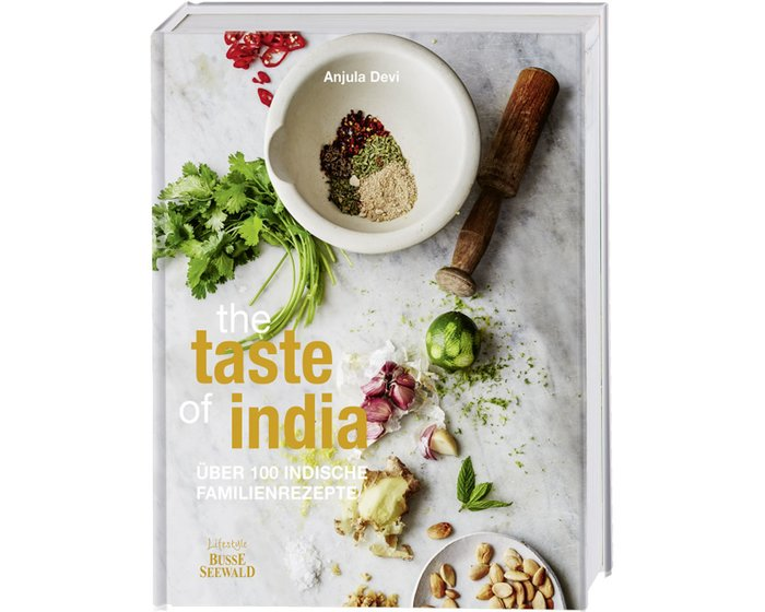 Rezeptbuch: The Taste of India, Busse Seewald