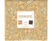 Metallic-Precuts Layer Cake JUBILEE, 42 Quadrate
