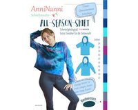 Damen-Schnittmuster ALL-SEASON-SHIRT, Blaubeerstern