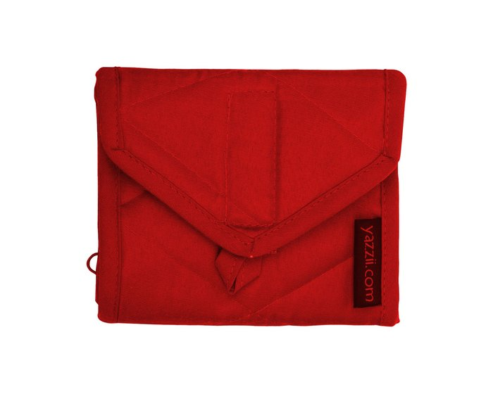 yazzii-Etui TRAVEL WALLET, rot