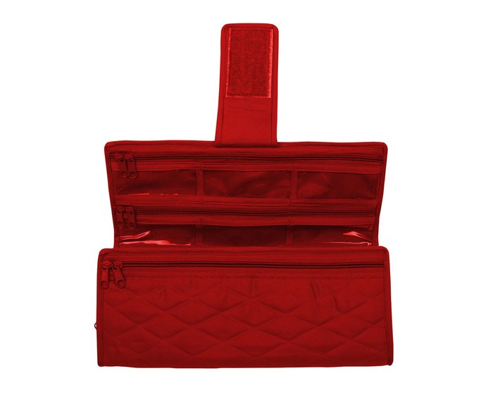 yazzii-Tasche SEWING MACHINE FEET ORGANIZER, rot