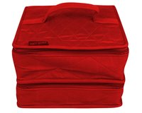 yazzii-Box DOUBLE CRAFT ORGANIZER DELUXE, rot
