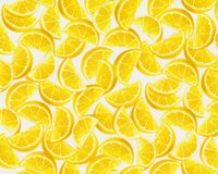Patchworkstoff LEMON FRESH, Zitronenspalten