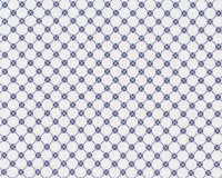 Patchworkstoff TILED UP, Kleeblatt-Raster, blau