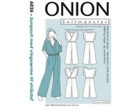 Jumpsuit, Schnittmuster ONION 6026