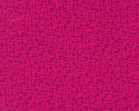Patchworkstoff BEAR ESSENTIALS, falsches Karo, fuchsia