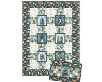 Patchwork-Anleitung MERMAIDS AND UNICORNS, Quilt und...