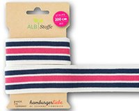 Strick-Band STRIPE ME COLLEGE SWEET HOME, Streifen,...