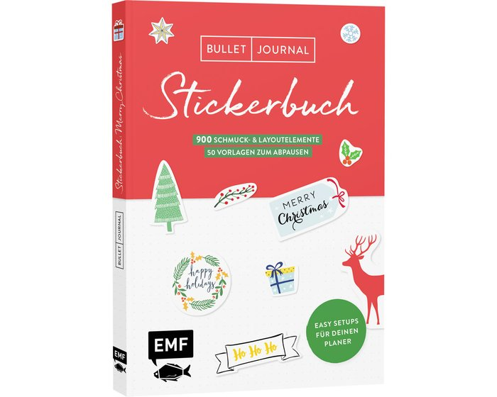 Stickerbuch: Merry Christmas, EMF