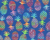 Patchworkstoff TROPICAL BREEZE, Ananas, Greta Lynn