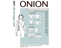 Wickelbluse, Schnittmuster ONION 5032