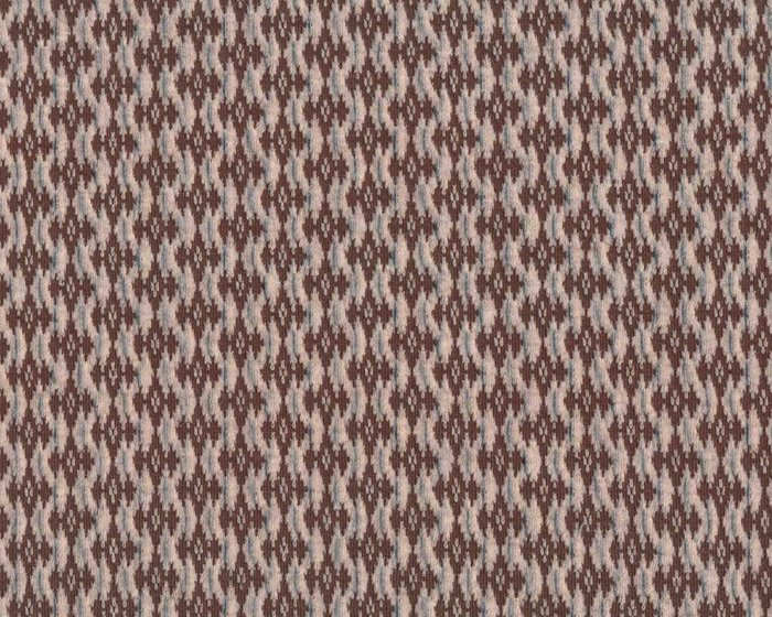 Jacquard-Strick COTTAGE KNIT, Rautenmuster, natur, Albstoffe