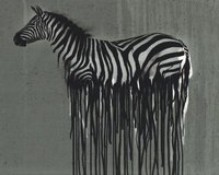 65-cm-Panel Baumwolljersey WILD ZEBRA by Thorsten Berger,...