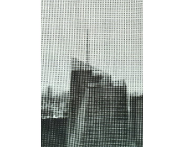 95-cm-Rapport Viskosejersey SKYLINE DOTS by Thorsten Berger, mint