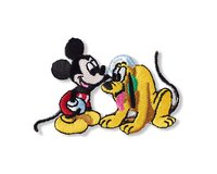 Applikation DISNEY MICKEY CLUBHOUSE, Mickey & Pluto, Prym