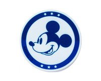 Applikation DISNEY MICKEY MOUSE, Mickeys Gesicht, blau, Prym