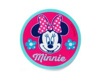 Applikation DISNEY MICKEY MOUSE, Minnie mit Blumen, rund,...
