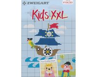 Stickheft: Kids XXL, Kindermotive, Zweigart