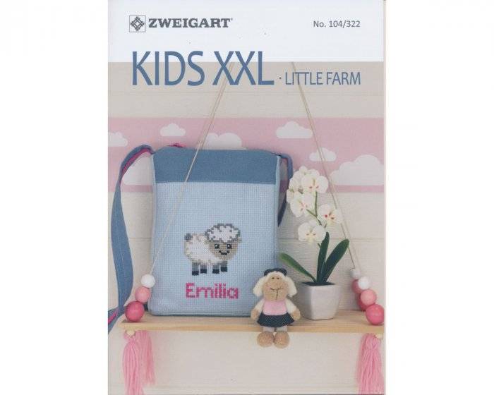 Stickheft: Kids XXL - Little Farm, Zweigart