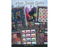 Patchwork-Anleitungsheft URBAN JUNGLE QUILTS, Jason Yenter