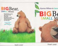 90-cm-Panel für Stoffbuch Patchworkstoff BIG BEAR SMALL...