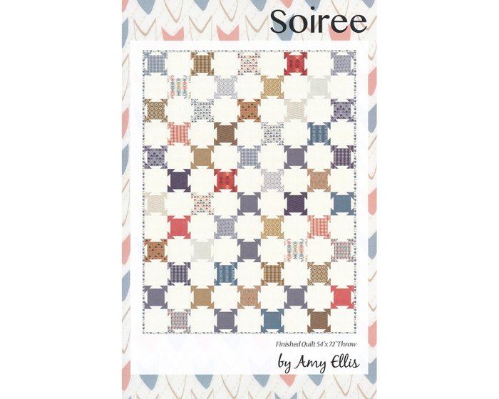 Patchwork-Anleitung SOIREE, Quilt