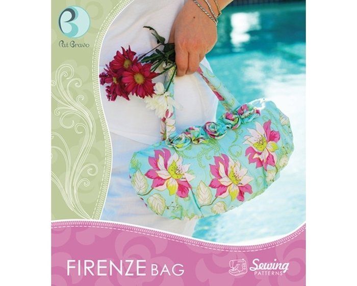 Pat Bravo - Sewing Patterns Firenze Bag, Taschen-Schnitt, Handtasche, Clutch