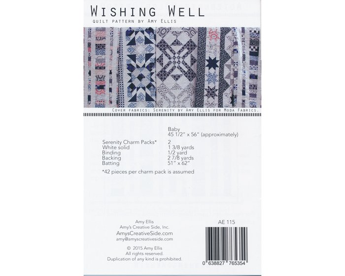 Patchwork-Anleitung WISHING WELL, Quilt