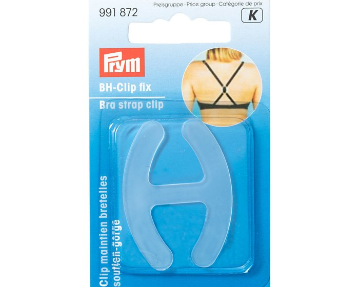 BH-Clip FIX, transparent, Prym