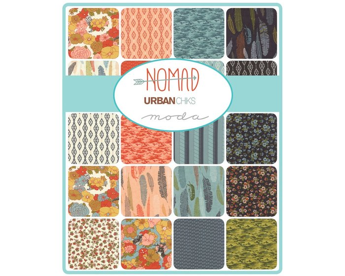 Patchwork-Anleitung NOMAD, Quilt