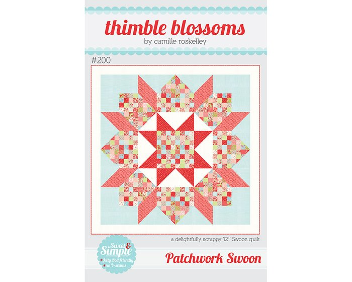 Patchwork-Anleitung PATCHWORK SWOON, Quilt